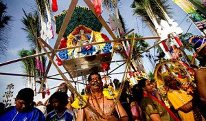 Thaipusam is a major Hindu festival that runs from January to February.