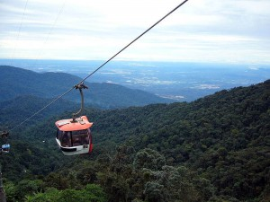 Genting Highlands view from cable car.