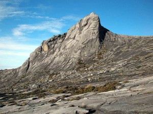 Summit of Mount Kinabalu.