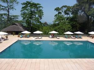 Swimming pool of the Datai Langkawi.