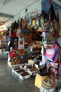 Craft stalls in markets like Kuching, Sarawak are good places to pick up locally made products.