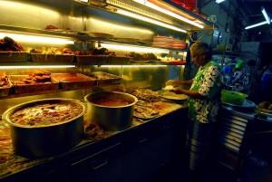 Line Clear Nasi Kandar in Penang.