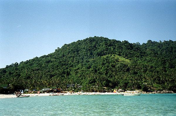 馬來西亞:在停泊島的潛水時光