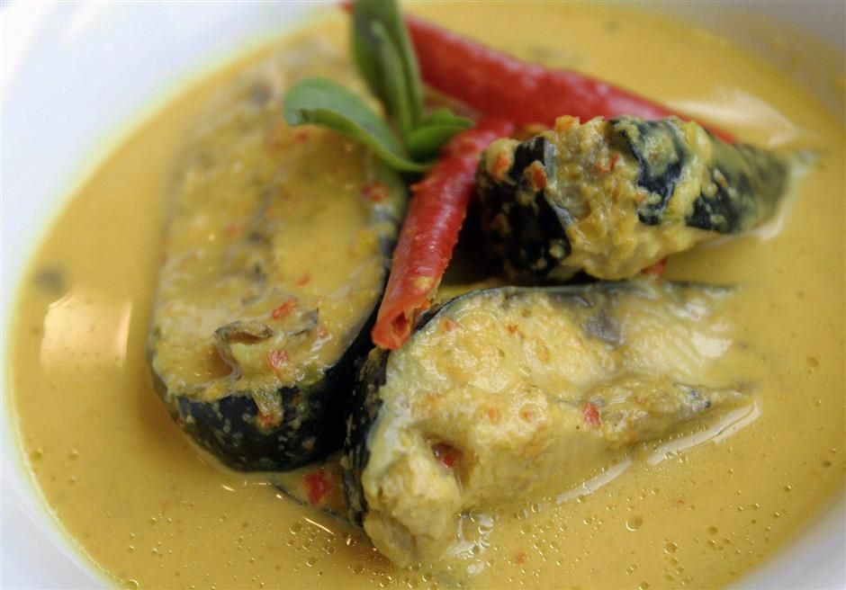 Patin in Tempoyak Sauce